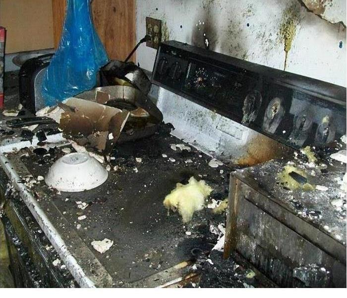 A little Overdone: Kitchen Fire